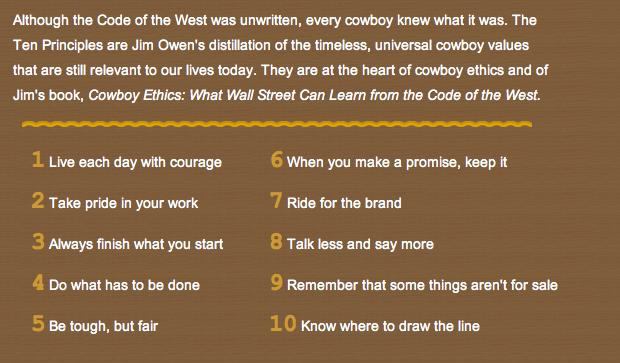 cowboy_ethics